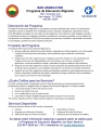 SAISD Migrant Education Program Page 2